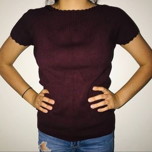 Ann Taylor knit shirt